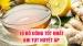 Tụt huyết áp uống gì? – 10 thức uống nâng huyết áp nhanh, an toàn!