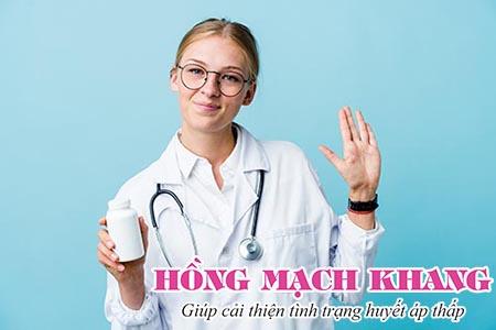 Với cách chữa tụt huyết áp nhanh bằng thuốc tây cần có chỉ định của bác sỹ