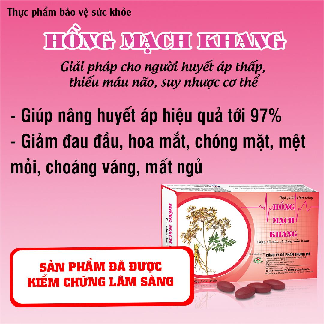 Nghiên cứu Hồng Mạch Khang